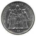 Moneda 010 Francos Francia 1965 SC Plata