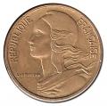 Moneda 0,20 Centimos Francia 1977 MBC+
