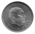 Moneda 025  pesetas 1957 *72.PROOF