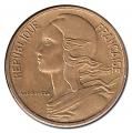 Moneda 0,05 Centimos Francia 1975 EBC