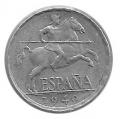 Moneda 0,05 céntimos peseta 1940.MBC+