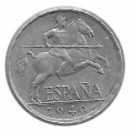 Moneda 0,05 céntimos peseta 1940.MBC