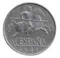 Moneda 0,05 céntimos peseta 1953. BC