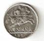 Moneda 0,10 céntimos peseta 1945.MBC