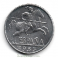 Moneda 0,10 céntimos peseta 1941.MBC