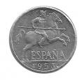 Moneda 0,10 céntimos peseta 1953.SC