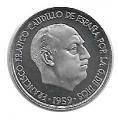 Moneda 0,10 céntimos peseta 1959.PROOF