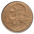 Moneda 0,20 Centimos Francia 1962 MBC