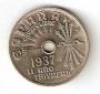 Moneda 0,25 céntimos peseta 1937.SC