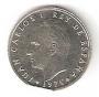 Moneda 0,50 céntimos peseta 1975 *76.SC.COSPEL MORDIDO