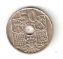 Moneda 0,50 céntimos peseta 1949*52.MBC+