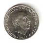 Moneda 0,50 céntimos peseta 1966*71.SC