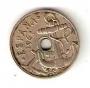 Moneda 0,50 céntimos peseta 1949.MBC.TALADRO