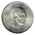Moneda 100  pesetas 1966 *70. MBC