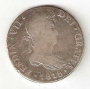 Moneda 1818. 08 Reales Fernando VII (1818 - M).GUATEMALA.MBC