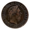 Moneda 1875. Carlos VII 10 Centimos Peseta 1875. MBC