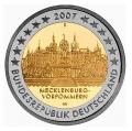 Moneda 2 euros Alemania 2007. Juego de 5 monedas (A,D,J,G,F)