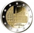 Moneda 2 euros Alemania 2013 Baden. Juego 5 monedas (A,D,G,F,J)