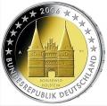 Moneda 2 euros Alemania 2006 (una ceca)