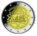 Moneda 2 euros Alemania 2007 Tratado Roma