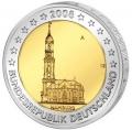 Moneda 2 euros Alemania 2008