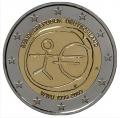 Moneda 2 euros Alemania 2009 EMU. 1 Ceca
