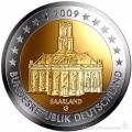 Moneda 2 euros Alemania 2009 1 ceca