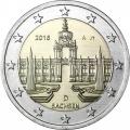 Moneda 2 euros Alemania 2016 - Sachsen. 1 ceca