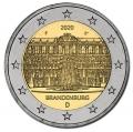 Moneda 2 euros Alemania 2020 Sanssouci. 1 Ceca