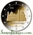 Moneda 2 euros Alemania 2014. Juego 5 monedas (A,D,G,F,J)