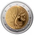 Moneda 2 euros de Estonia 2017 - Camino Independencia