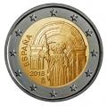 Moneda 2 euros de España 2018. Casco Antiguo Santiago Compostela