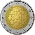 Moneda 2 euros de Francia 2018. Aciano de la Guerra