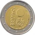 Moneda 2 euros de Estonia 2018 - Aniversario República