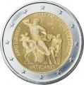Moneda 2 euros de Vaticano 2018 - Año Patrimonio Cultural