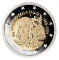 Moneda 2 euros de Italia 2018. Ministerio de Salud