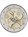 Moneda 2 euros de Andorra 2019 Campeonato Mundo Esquí. Blíster