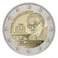 Moneda 2 euros de Bélgica 2019 - Instituto Monetario