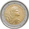 Moneda 2 euros de San Marino 2019 - Leonardo Da Vinci