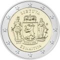 Moneda 2 euros de Lituania 2019 - Región de Samogitia