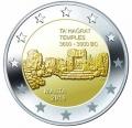 Moneda 2 euros de Malta 2019 - Templos de Ta´grat