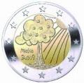 Moneda 2 euros de Malta 2019 - Naturaleza