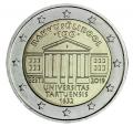 Moneda 2 euros de Estonia 2019 - Universidad Tartu