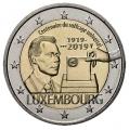 Moneda 2 euros de Luxemburgo 2019 - Sufragio Universal