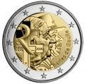 Moneda 2 euros de Francia 2020. Charles de Gaulle