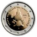 Moneda 2 euros de Italia 2020. Bomberos