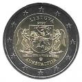 Moneda 2 euros de Lituania 2020. Aukstaitija
