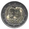 Moneda 2 euros de Luxemburgo 2020. Principe Henry