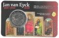Moneda 2 euros de Bélgica 2020 - Van Eyck