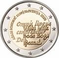 Moneda 2 euros de Eslovenia 2020 - Adam Bohoric